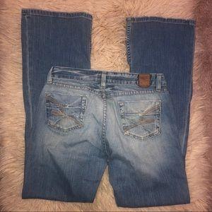 BKE starlight stretch bootcut jeans 28x33 1/2